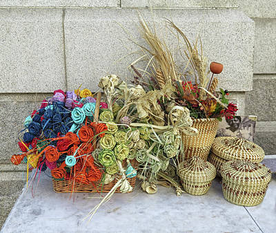 Photograph - Sweet Grass Baskets by Dave Mills