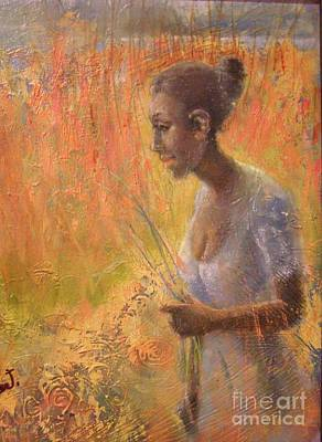 Painting - Sweet Grass by Gertrude Palmer