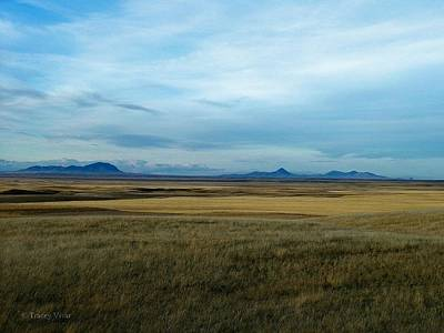 Photograph - Sweet Grass Hills  Prairie View by Tracey Vivar