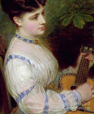 Melancholy Painting - Sweet Harmony by Jerry Barrett