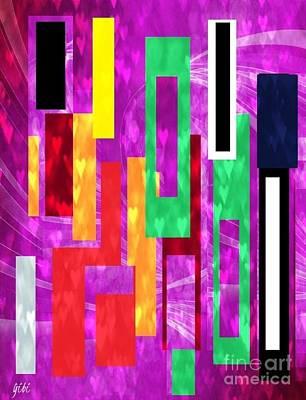 Mixed Media - Sweet Hearts by Isaac Khonjelwayo