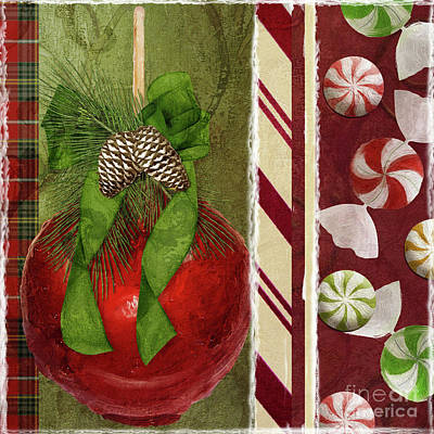 Lollipop Painting - Sweet Holiday II by Mindy Sommers