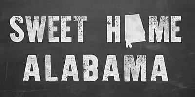 Sweet Home Alabama Art Print