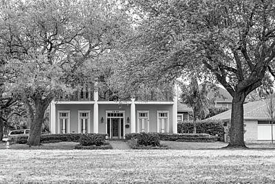 Photograph - Sweet Home New Orleans 7 Bw by Steve Harrington