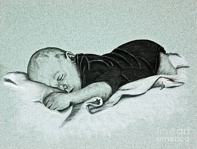 Drawing - Sweet Innocence by Terri Mills