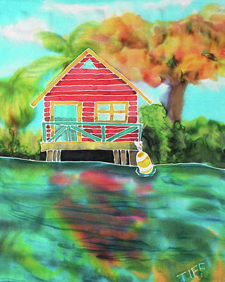 Painting - Sweet Island Home by TIFF Barrett