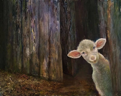 Sweet Lamb Art Print
