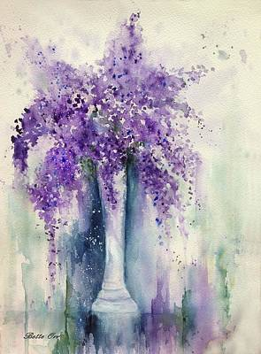 Painting - Sweet Lilacs by Bette Orr