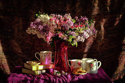 Wall Art - Photograph - Sweet Lilacs by Wendy Blomseth