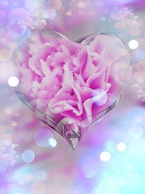 Digital Art - Sweet Love by Rachel Hannah