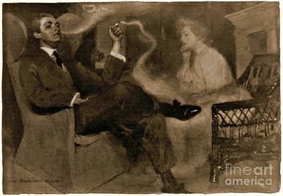 Photograph - Sweet Magic Of Smoke 1903 by Padre Art