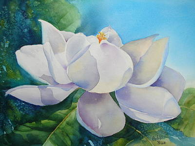 Sweet Magnolia Art Print by Bobbi Price