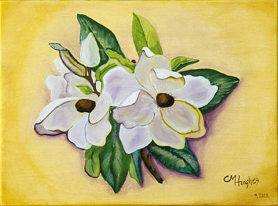 Painting - Sweet Magnolias by Christie Nicklay