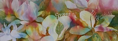 Painting - Sweet Magnolias by Tara Moorman
