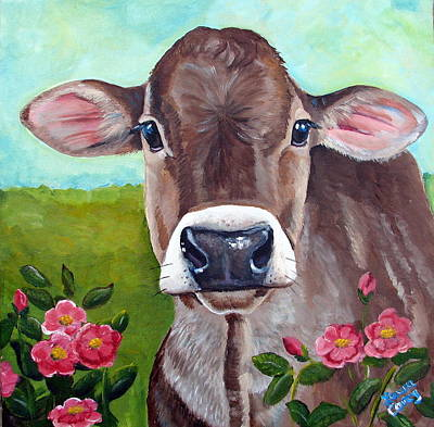 Painting - Sweet Matilda by Laura Carey