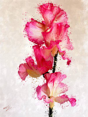 Painting - Sweet Pea by James Shepherd