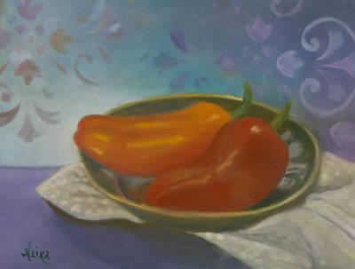 Pastel - Sweet Peppers by Alika Kumar
