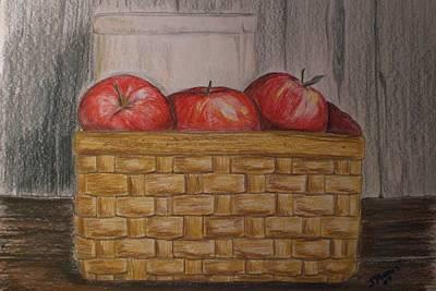 Crocks Drawing - Sweet Pickens by Jessica Mason