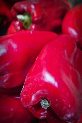 Photograph - Sweet Red Pepper by Joan Reese