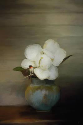 Hummingbird Painting - Sweet Resting Place by Jai Johnson