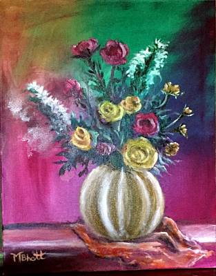 Painting - Sweet Roses by M bhatt