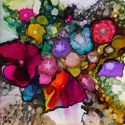 Painting - Sweet Sensation Bouquet by Joanne Smoley