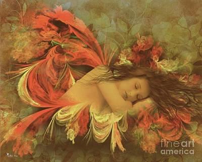 Digital Art - Sweet Serenity Dreams by Ali Oppy
