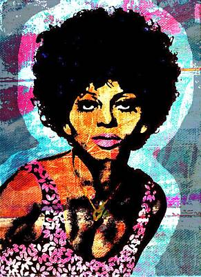 Diana Ross Painting - Sweet Soul Sista 2a by Otis Porritt