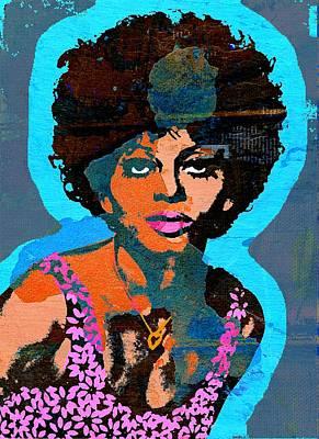 Diana Ross Painting - Sweet Soul Sista 2b by Otis Porritt