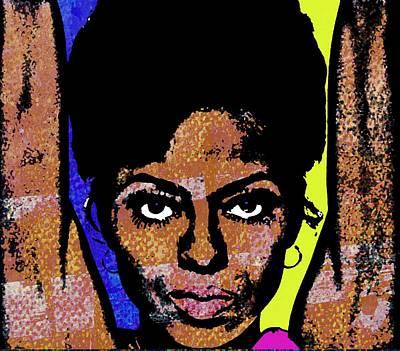 Diana Ross Painting - Sweet Soul Sista by Otis Porritt