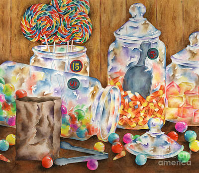 Candy Store Painting - Sweet Stuff by Michelle Carrick