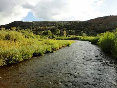Utah Photograph - Sweet Summer On The Spanish Fork River by Trinket's  Legacy