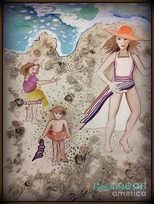 Mixed Media - Sweet Summer by Patricia Bunk