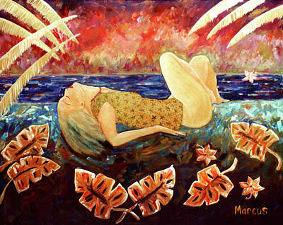 Painting - Sweet Surrender by Leslie Marcus