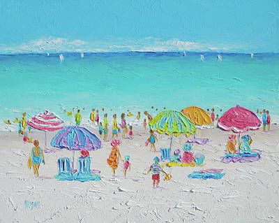 Sandy Beaches Painting - Sweet Sweet Summer by Jan Matson