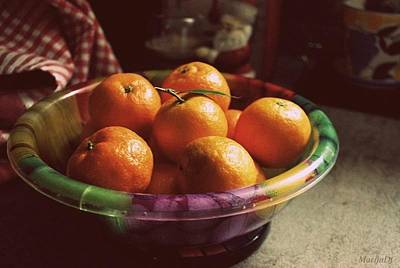 Photograph - Sweet Tangerines by Marija Djedovic