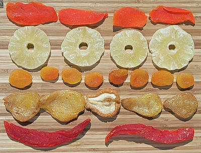 Photograph - Sweet Treets - Dried Fruit by Cathy Mahnke