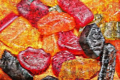 Wine Mixed Media - Sweet Wine by Clare Bevan