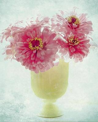 Photograph - Sweet Zinnias by Patricia Strand
