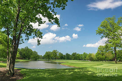 Sports Royalty-Free and Rights-Managed Images - Sweetbriar Golf Club by Paul Quinn