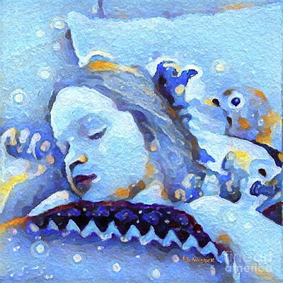 Digital Art - Sweetest Of Dreams by Linda Weinstock