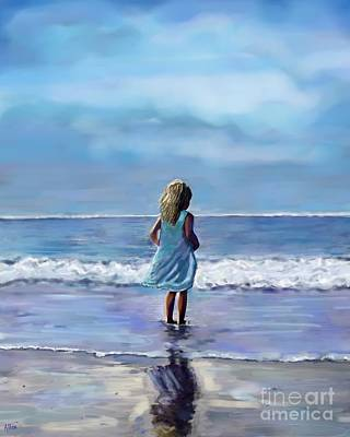 Painting - Sweetness On The Sand by Leslie Allen