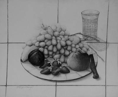 Drawing - Sweets by Caroline Krieger Comings