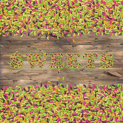 Food And Beverage Digital Art - Sweets by La Reve Design