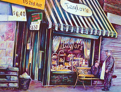 Wall Art - Painting - Sweets, New York City by Gaye Elise Beda