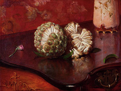 Painting - Sweetsop by Agostinho da Motta