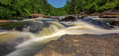 Sweetwater Creek Long Exposure 2 Art Print