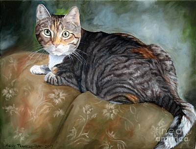 Painting - Sweety Buns by Heidi Parmelee-Pratt