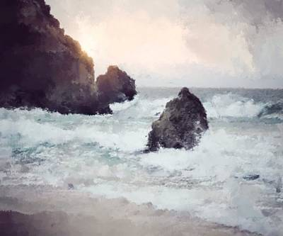 Painting - Swelling Waters by Mark Taylor
