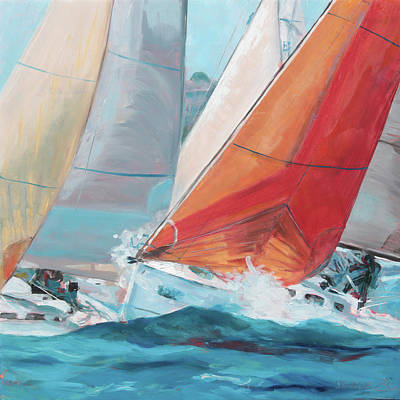Painting - Swells by Trina Teele